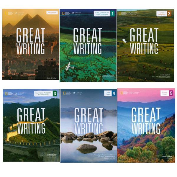 Great writing Foundation 1 2 3 4 5 선택